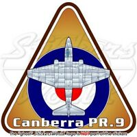 English Electric CANBERRA PR.9 RAF British Royal AirForce UK Vinyl Sticker Decal