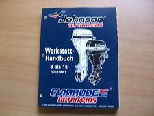 Manuale officina Johnson Evinrude Fuoribordo ED 1996 4-stroke 8 9.9 15 HP