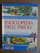 Enciclopedia delle Parole Tv Junior Gervaso & Nebiolo 1981 ed. ERI RAI  [G419A]