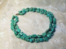 High Quality Handmade Jewelry Turquoise Color Green Stone Necklace