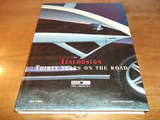 Book. Italdesign. Thirty Years on the Road. 1968-1998. Ft Fiat Maserati Bugatti