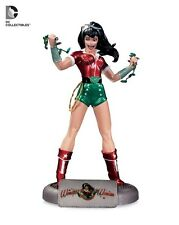 "DC Comic Bombshells Collectables Holiday Wonder Women Christmas Decor 10.5"" L.E."