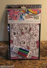 MY LITTLE PONY  Color Ups Coloring Poster with Markers Glow in the Dark NEW