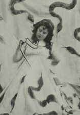 Loie Fuller Creator Of The Serpentine Dance 1902 Page Photo Article 8084