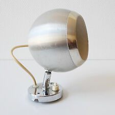 Lampe applique métal vintage années 70 design 1970 EYEBALL Space Age Pop