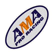 Biker Racing Aufnäher  AMA PRO RACING 9 x 4,5 cm