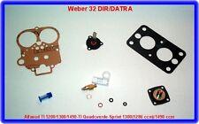 Alfasud,Quadro verde-Sprint,Weber 32 DIR/DATRA Rep.Kit
