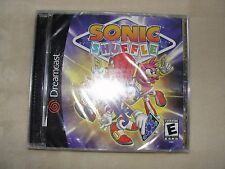 Sonic Shuffle (Sega Dreamcast, 2000) - NEW in sealed packaging.