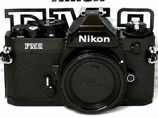 ** NEW  ** NEVER USED ** Nikon FM2N 35mm SLR Black Camera W/ TITANIUM SHUTTER
