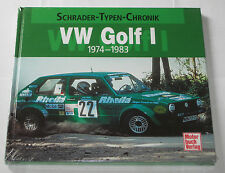 Schrader Typen Chronik VW Golf I / 1 mit GTI + Cabrio + Caddy -  Bildband