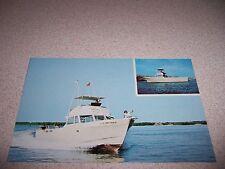 1970s CRAWFORD'S DIVE SHOP BOAT KEY LARGO FLORIDA FL. VTG POSTCARD