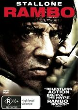 RAMBO Sylvester Stallone DVD R4 - New
