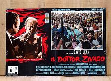 IL DOTTOR ZIVAGO poster fotobusta Julie Christie David Lean Doctor Zhivago