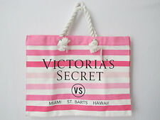 Victoria's Secret Spring Fever Stripe Swim Tote US Bought