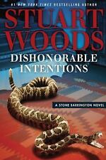 A Stone Barrington Novel: Dishonorable Intentions by Stuart Woods (2016,...