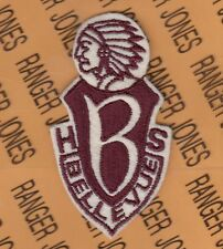 US Army JROTC Bellvue High School Indiana BHS ROTC patch