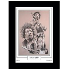Jimi Hendrix Limited Edition Fine Art Print By Patrick J. Killian