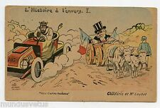 G. LION .Satire . Caricature politique . CHILDéRIC ET Mr LOUBET .