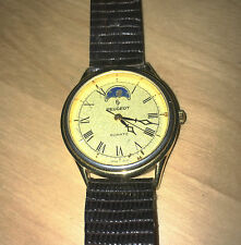 Vintage PEUGEOT Moon Phase Quartz Watch