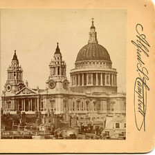 ALFRED CAMPBELL ELIZABETH NJ STEREOVIEW SAINT PAULS CATHEDRAL LONDON