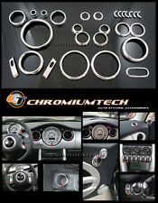 Chrome Interior Dial Kit for 2001-2006 BMW MINI Cooper/ S/ONE R50 R52 R53 26pc