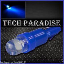 6x Ampoule T5 W1.2W W2X4.6D ( pour B8.5D ) LED Bulb Bleu Blue Neo Wedge