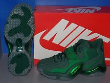MENS NIKE AIR ZOOM TURF JET '97 NFL in colors GREEN / GREEN / PINE SIZE 10