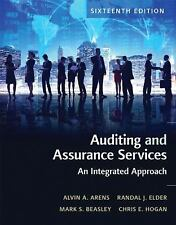 Auditing and Assurance Services 16E by Beasley, Arens 16th (Global Edition)