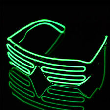 LED Light Up Shutter Glasses Blinking Glasses LED Shades Flashing Party Supplies