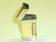 "DUNHILL ROLLALITE ""14 CARAT GOLD JACKET"" POCKET WICK LIGHTER - 1938 - U.S.A"