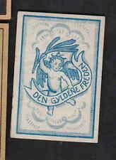 Ancienne  étiquette allumettes Suède  BN8054 Ange