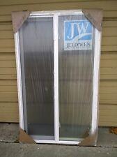 """BRAND NEW: Nice Jeld-Wen White VINYL SEMI-SLIDER Home WINDOW ( 36"""" W x 60"""" H )"""