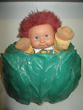 80's Cauliflower Kid Doll Boy with Red Hair Overalls Clothes Effe Made in Italy