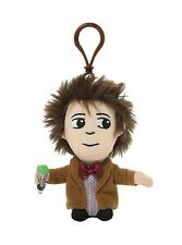 "DOCTOR WHO 11TH DOCTOR 4"" TALKING PLUSH WITH CLIP - MATT SMITH NEW SOFT TOY"