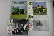 Lot of 4 Two Cylinder Club Magazines Vintage Manual Farm Tractors ~ John Deere