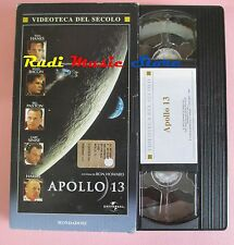 film VHS cartonata APOLLO 13 T. Hanks K. Bacon MONDADORI 1995 (F36 ** ) no dvd
