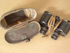 German Officers World War Two Binoculars with case WWII