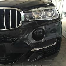 BMW smoked fog light Cover X3 X4 X5 X6 F25 F26 F15 F16 Nebelscheinwerfer LED