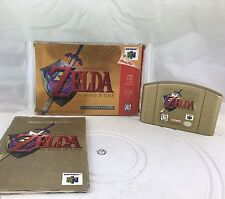 Legend of Zelda: Ocarina of Time -- Collector's Edition (Nintendo 64, 1998) Gold