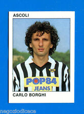 CALCIO FLASH '84 Lampo - Figurina-Sticker n. 18 - BORGHI - ASCOLI -New