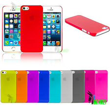 CUSTODIA CASE COVER PER APPLE IPHONE 5 ULTRA THIN SLIM SOTTILE + PELLICOLA