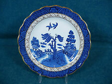 "Booths Real Old Willow A8025 Dessert Plate 6 3/4"" Diameter"