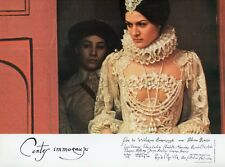 PALOMA PICASSO CONTES IMMORAUX 1974 VINTAGE LOBBY CARD #16 WALERIAN BOROWCZYK