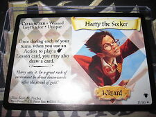 HARRY POTTER TCG QUIDDITCH CUP HARRY THE SEEKER 11/80 RARE ENGLISH MINT