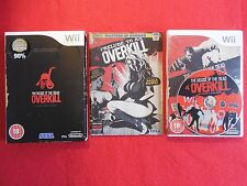 THE HOUSE OF THE DEAD OVERKILL Collector's Edition - Nintendo Wii ~PAL~18+