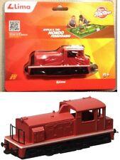 q LIMA - Locomotore Italiano da manovra diesel ROSSO in un blister (HL2301) 1/87