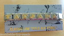 Armband mit Name TATJANA für NOMINATION CLASSIC LINE EDELSTAHL GOLD