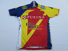 Womens Champ Sys Purina Velo Force Racing Team Mountain Bike Cycling Jersey Sz S