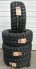 35-12.50-20 121Q Load E Federal Couragia MT New 4 Tires LT35x12.50R20 35125020