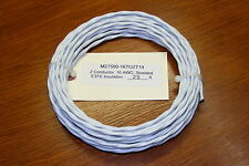 25 ft. M27500-16TG2T14 , 2 Conductor, 16 AWG, Shielded Aircraft Electrical Cable
